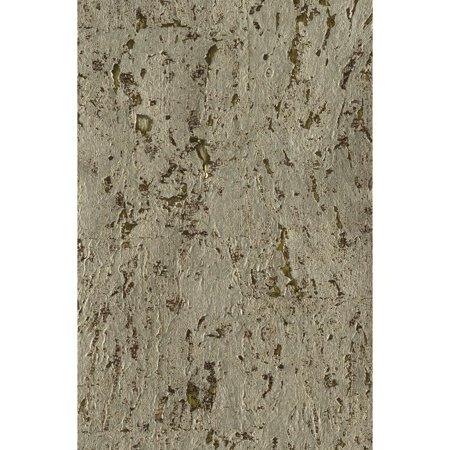 York Wallcoverings Nz0741 Urban Metallic Cork Wallpaper