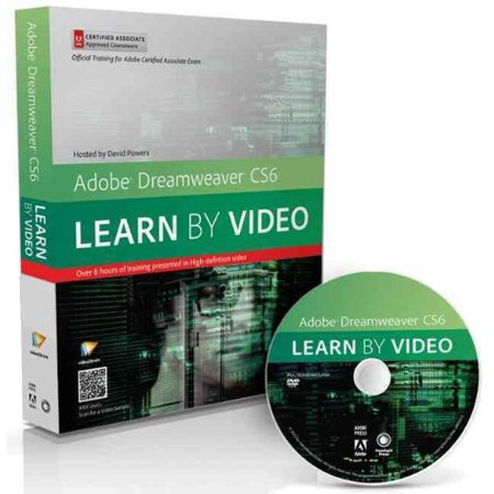 Adobe Dreamweaver Cs6: Learn by Video: Core Training in Web Communication [With DVD]