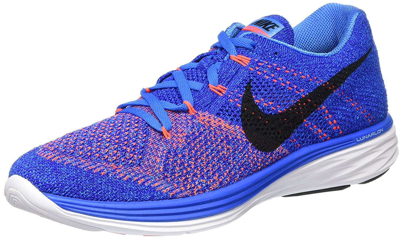 Nike Men's Flyknit Lunar3 Running Shoes