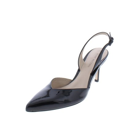 Stuart Weitzman Womens Sleek Solid Slingback Heels