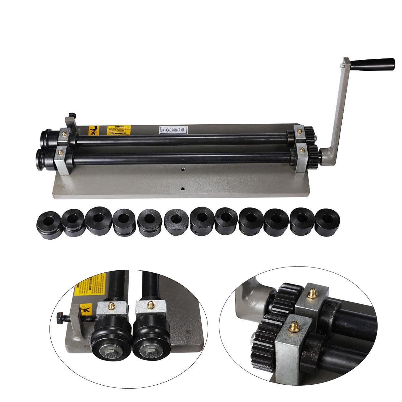 "RM-18 18/"" Throat Depth Sheet Metal Fabrication Bead Roller Kit"