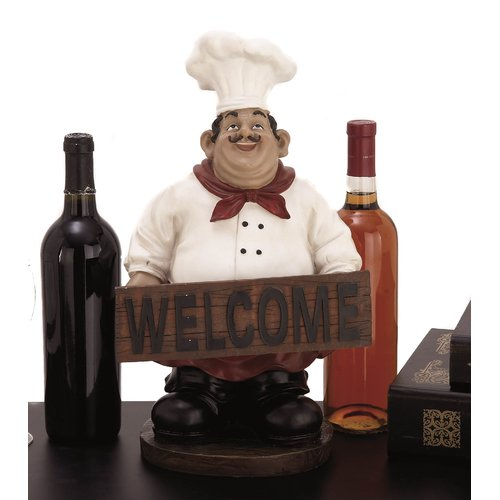 EC World Imports French Chef Figurine by ecWorld