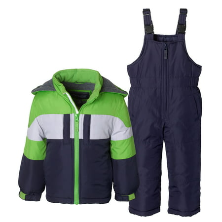 Sportoli Boys Kids Winter Snowboard Skiing Parka Jacket & Snow Bib Snowsuit Set