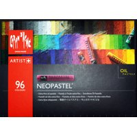 Caran d'Ache, Neopastel Oil Based Pastel Crayons, with Durable Box, 96 Colors