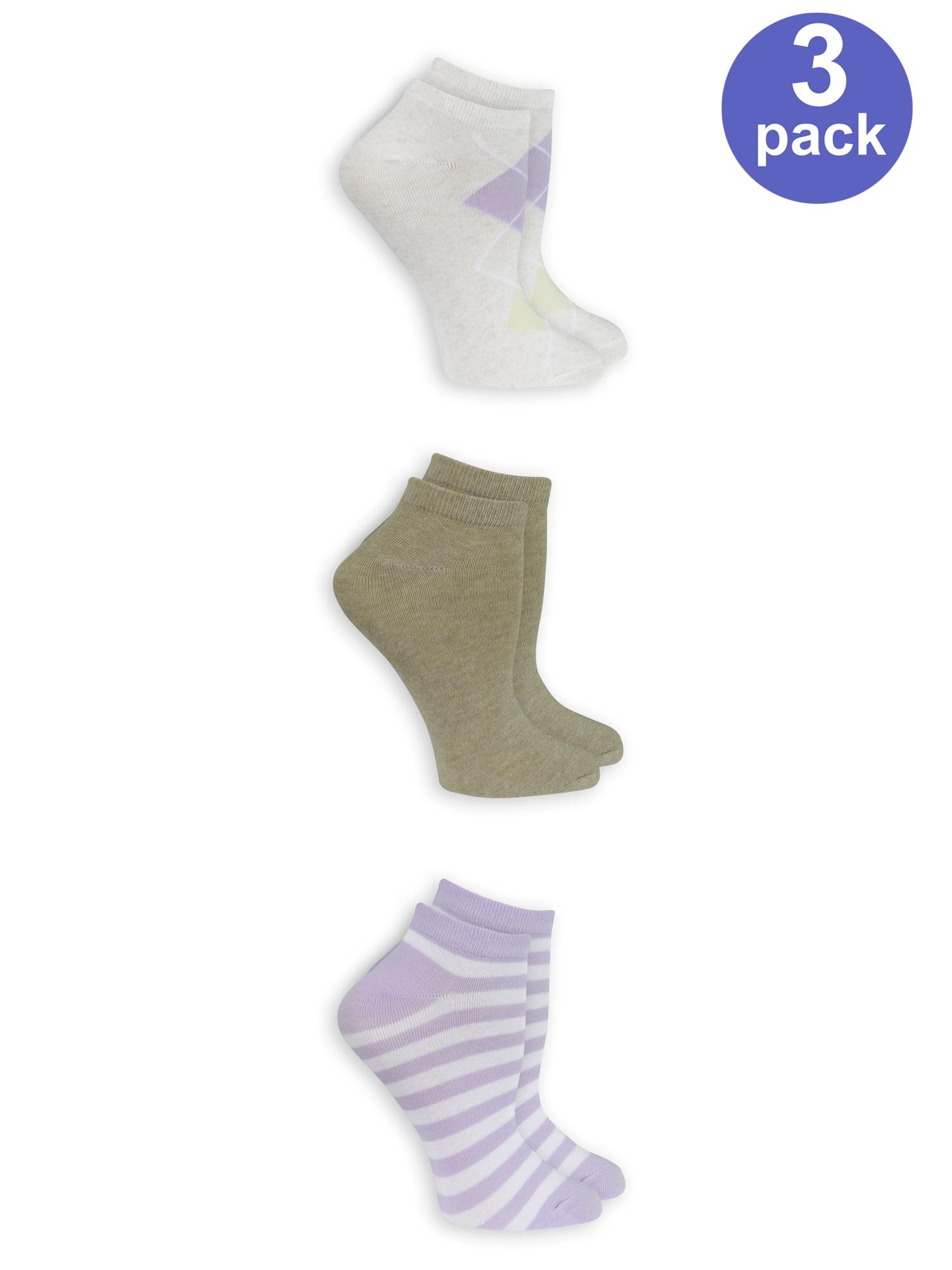Women's Fashion Low Cut Socks 3 Pack