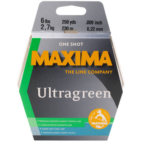 Maxima Ultragreen Fishing Line Maxi Spool by Maxima
