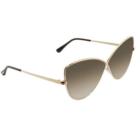 Tom Ford ELISE Brown Butterfly Ladies Sunglasses (Ladies Tom Ford Sunglasses)