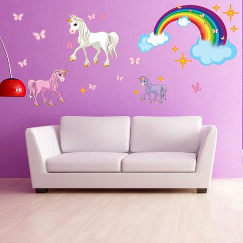 Style and Apply Unicorn Set wall decal