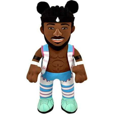 Bleacher Creatures Wwe wrestling kofi kingston plush [new - Kofi Kingston Kids