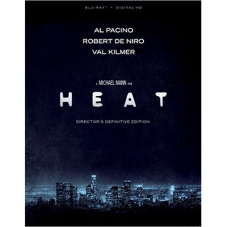 Heat (Director's: Definitive Edition) (Blu-ray + Digital HD) - Movie Director Clapboard