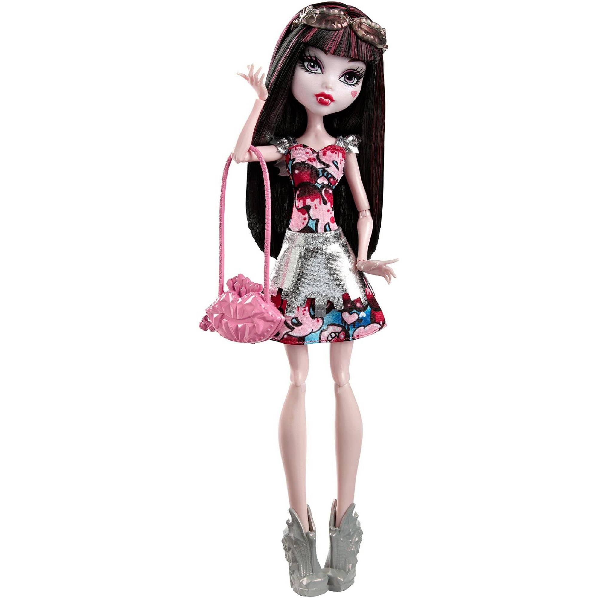 Monster High Boo York, Boo York Frightseers Draculaura Doll by Mattel