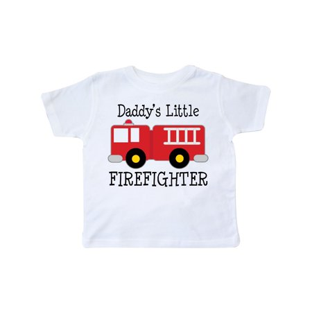Daddy's Little Firefighter Toddler - Firefighter Girls