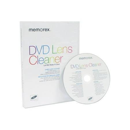 Dvd Head Cleaner (Memorex DVD Lens Cleaner - CD/DVD lens cleaning)