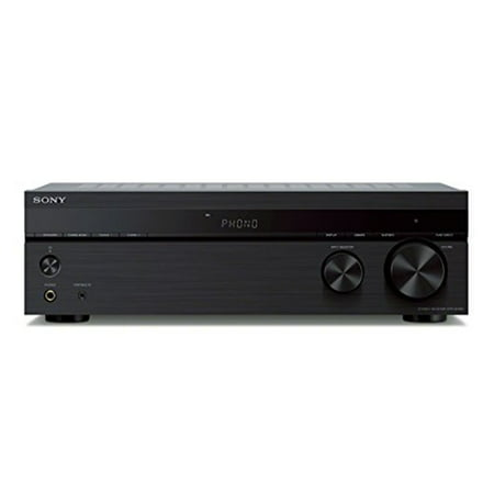 Sony 2.0 Channel Stereo Receiver with Phono Inputs and Bluetooth -