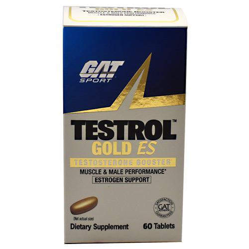 GAT Testrol Gold ES Testosterone Booster 60 Tablets - Walmart.com - Walmart.com