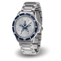 Dallas Cowboys Sparo Key Bracelet Quartz Watch - Silver - No Size