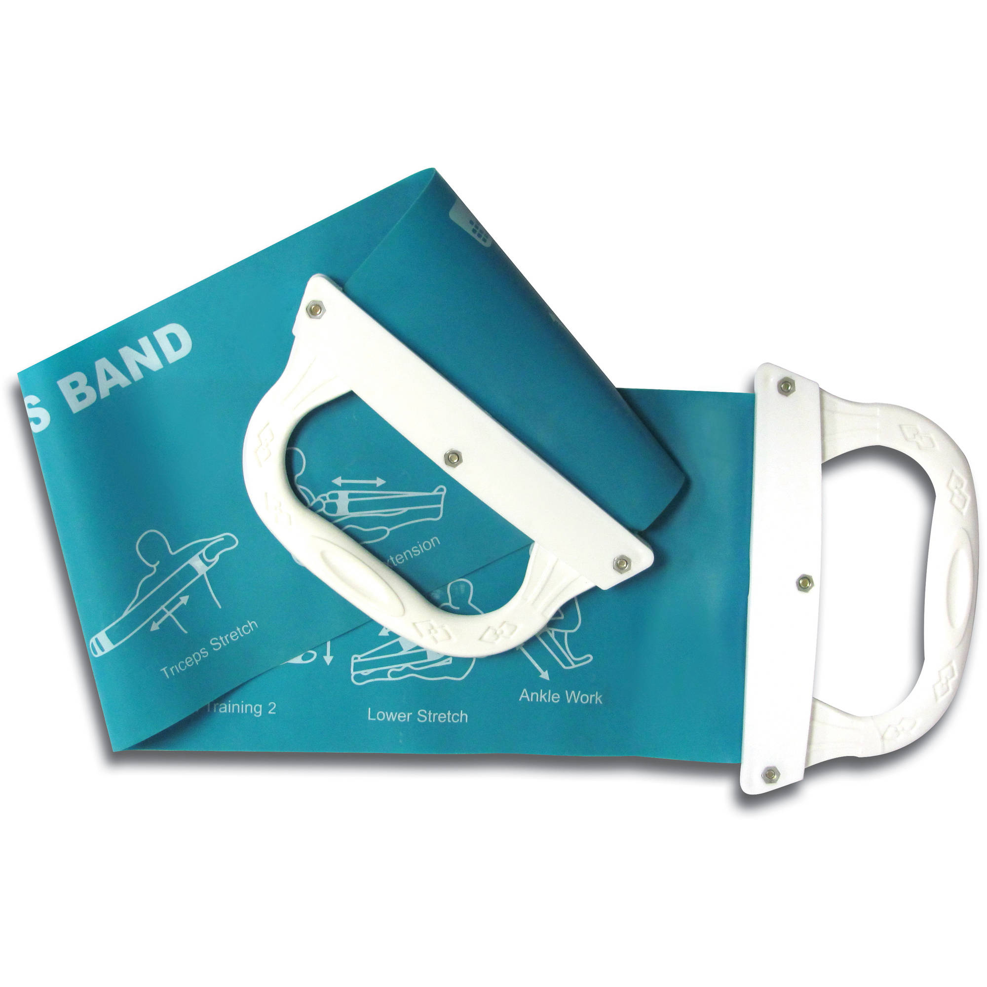Tone Fitness Pilates Flex Band with Handles