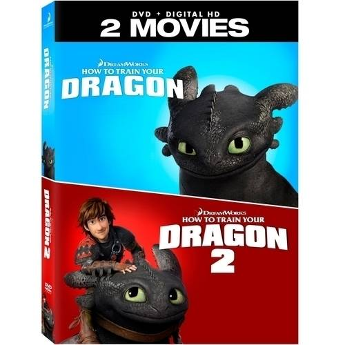 How to Train Your Dragon / How to Train Your Dragon 2 (DVD)