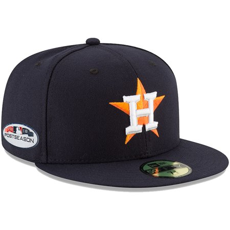 Houston Astros New Era 2018 Postseason Side Patch 59FIFTY Fitted Hat - Navy  - Walmart.com 33a5f7294c4