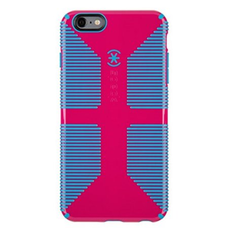 outlet store c4648 b3dd4 Speck Products CandyShell Grip Case for iPhone 6 Plus/6S Plus - Lipstick  Pink/Jay Blue