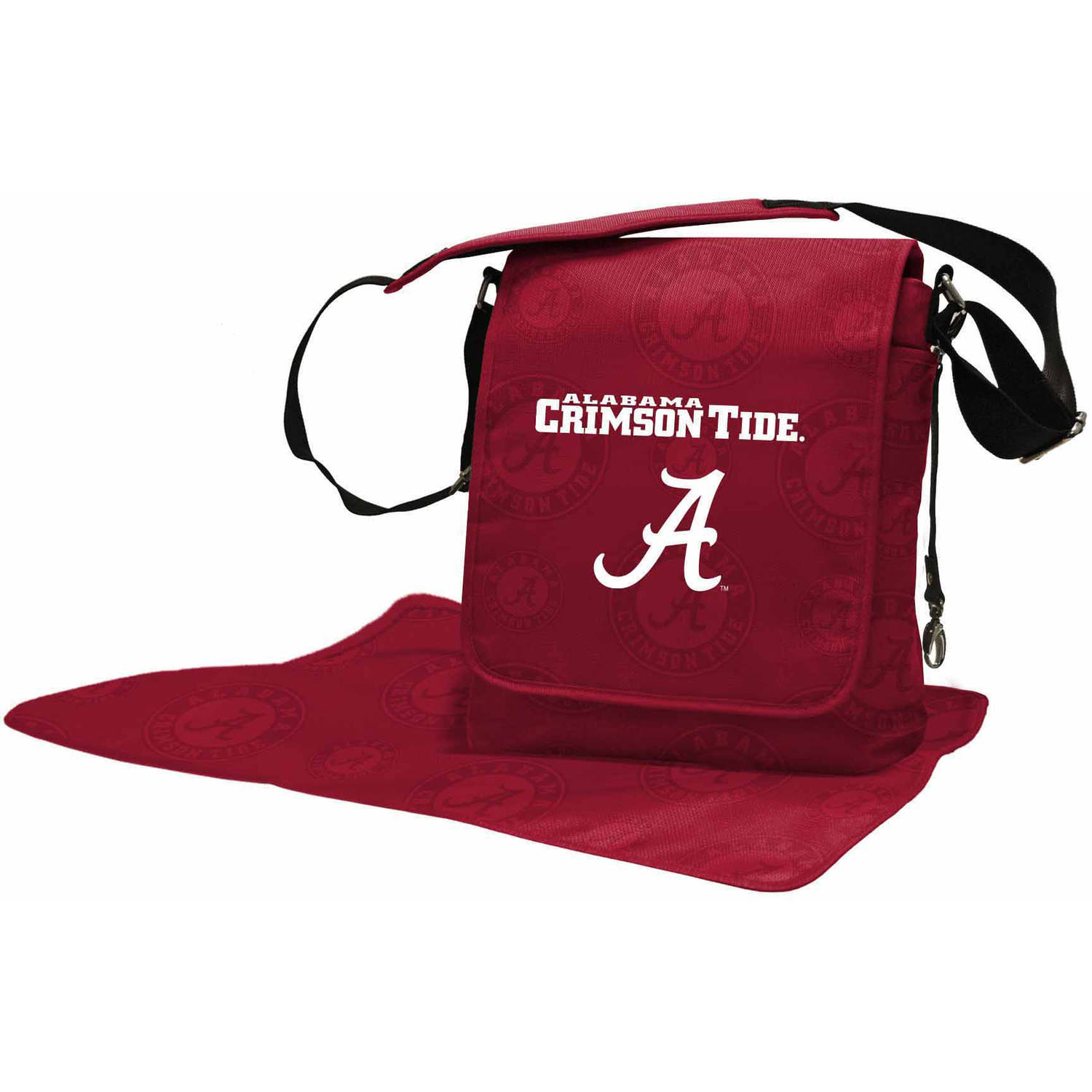 NCAA Collegiate Licensed Diaper Messenger Bag Collection