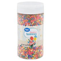 Frosting & Decorations: Great Value Rainbow Sprinkles