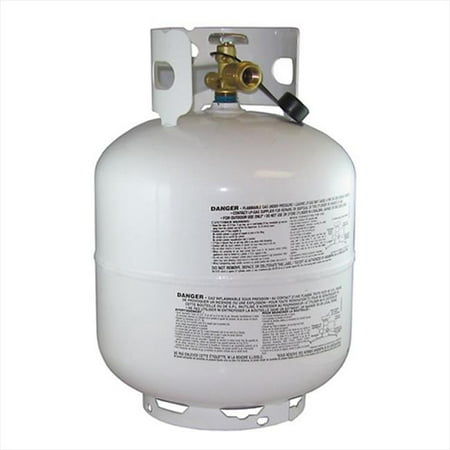 MANCHESTER 10577 Propane Tank 20 Pound Capacity Gray Steel ()