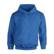 Gildan Hoodie Sweatshirt Unisex Hooded Sweatshirts Basic Casual Jumper Sweatshirts for Women Men's Fleece Pocket Hoodie Sweatshirt Long Sleeve Plain Hoodie