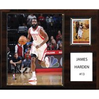 C&I Collectables NBA 12x15 James Harden Houston Rockets Player Plaque