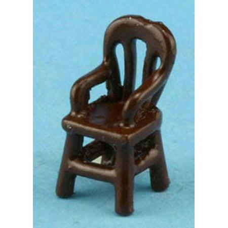 Dollhouse Brown Arm Chair