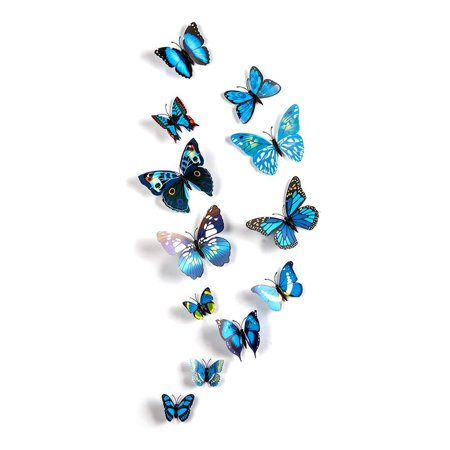 Removable DIY 3D Butterfly Magnet DIY  Wall Decals Stickers Art Home Room Decor Removable HFON](Diy Halloween Room Decor)