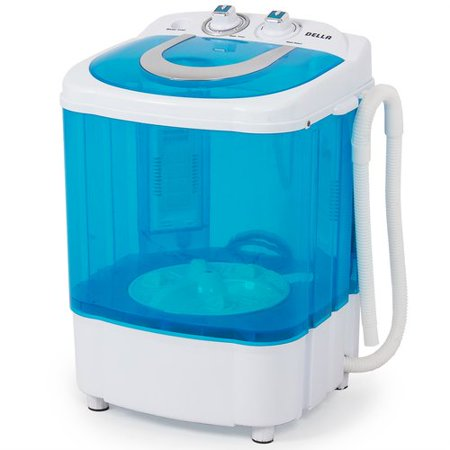 Della Electric Small Mini Portable Compact Washer Washing Machine (8.8 LB Capacity), (My Washing Machine Won T Fill With Water)