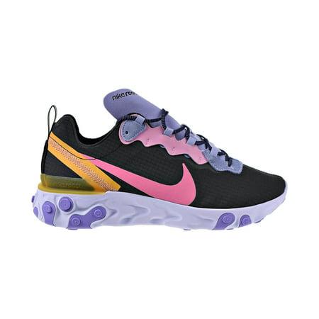 Nike React Element 55 Premium Men's Shoes Black-Pollen Rise-Magic Flamingo ci9593-001