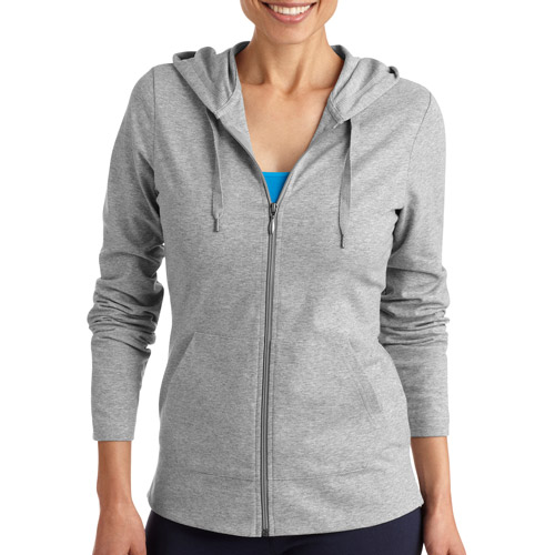 Danskin Now Women's Dri-More Core Zip Up Hoodie - Walmart.com