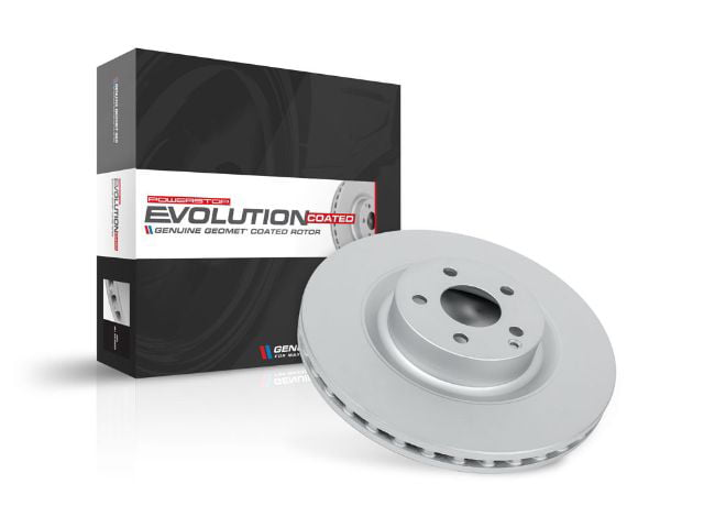 Slotted//& Plated Brake Rotor Pair Power Stop JBR1597XPR Rear Evolution Performance Drilled