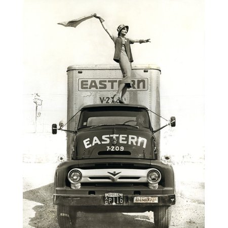 Zatista Limited Edition Model On Semi By Norman Lerner Photographic Print