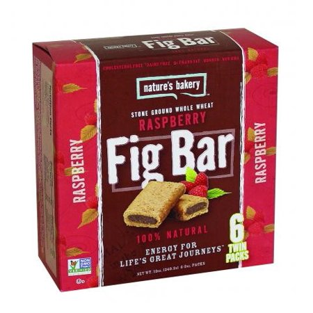 Natures Bakery Fig Bar Raspberry  6  2Oz Twin Packs