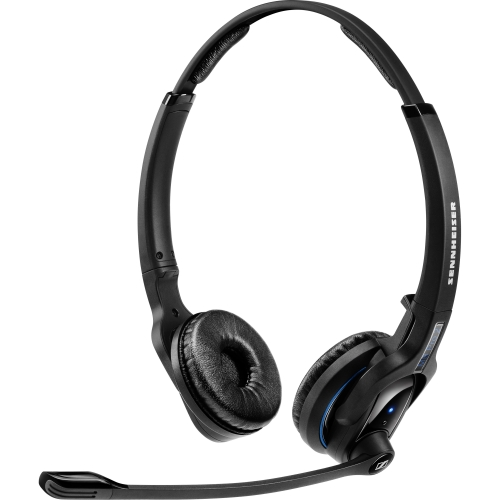 Sennheiser MBPro2 Sennheiser MB Pro 2 Headset - Stereo - Wireless - Bluetooth - 82 ft - 150 Hz - 15 kHz - Over-the-head - Binaural - Supra-aural - Noise Cancelling Microphone
