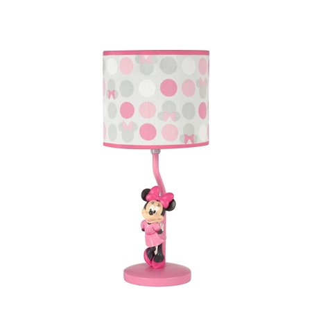 Disney minnie mouse polka dots lamp base and shade walmart disney minnie mouse polka dots lamp base and shade aloadofball Image collections