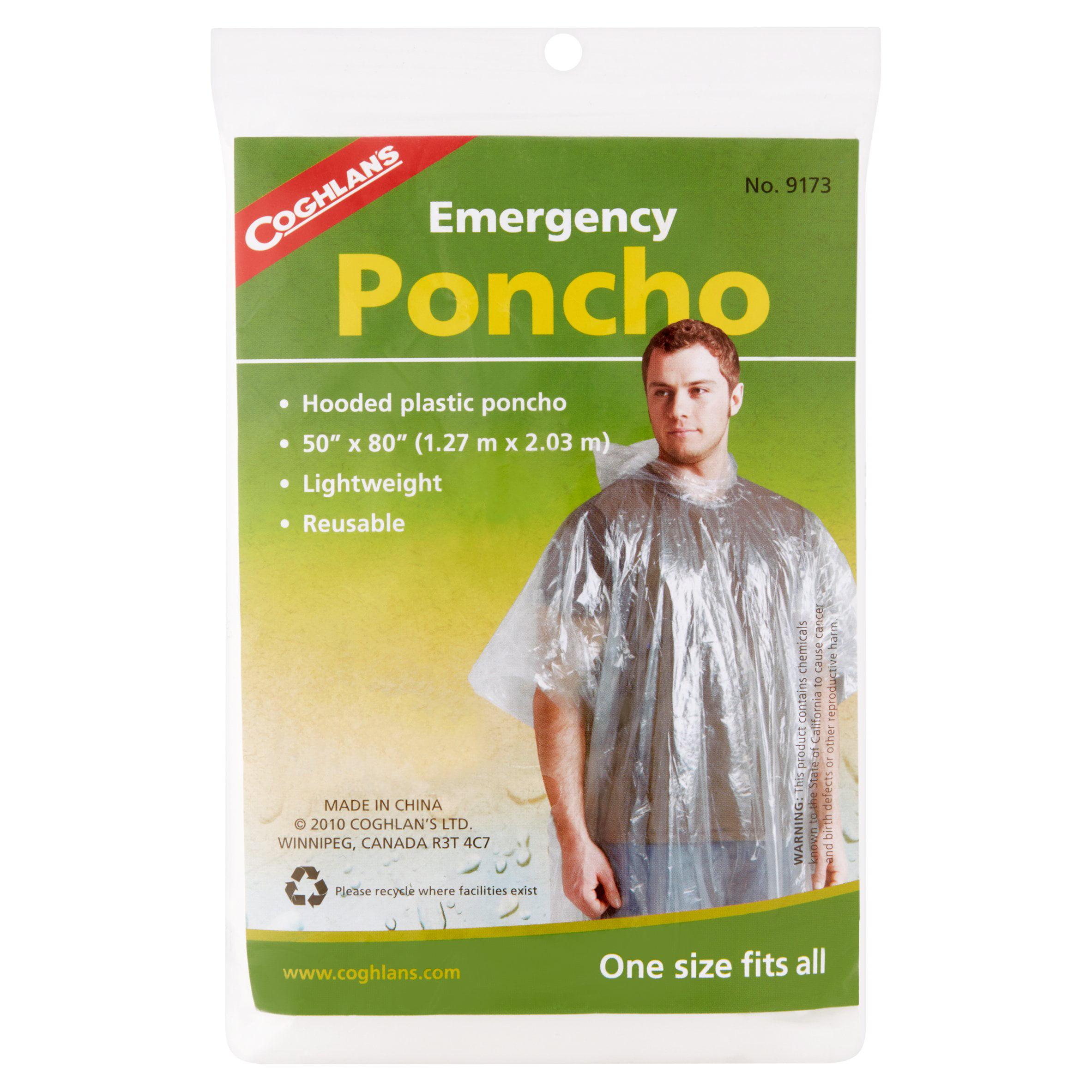 Coghlan's Emergency Poncho by Coghlan'S Ltd.