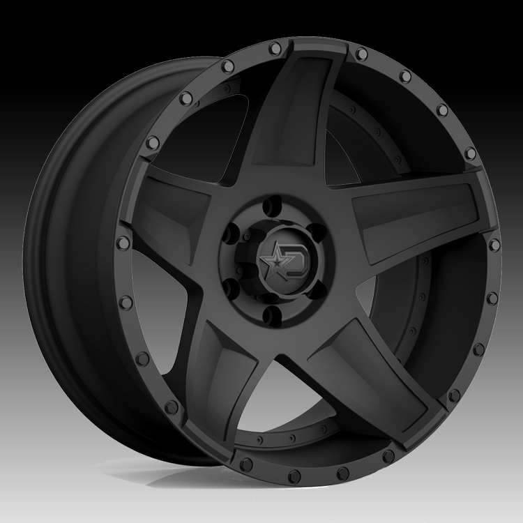 Dropstars 648BB Satin Black 20x9 5x5 0mm (648BB-2097300)