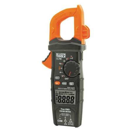 Clamp Meter,Digital,LCD,6000uF,TRMS KLEIN TOOLS CL700