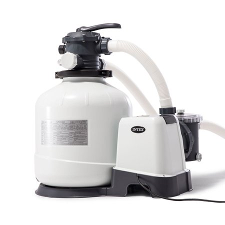 Intex 26651EG 3000 GPH Above Ground Pool Sand Filter Pump with Automatic Timer ()