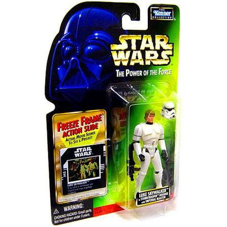 Luke Skywalker Stormtrooper Disguise - Luke Skywalker in Stormtrooper Disguise Action Figure Star Wars