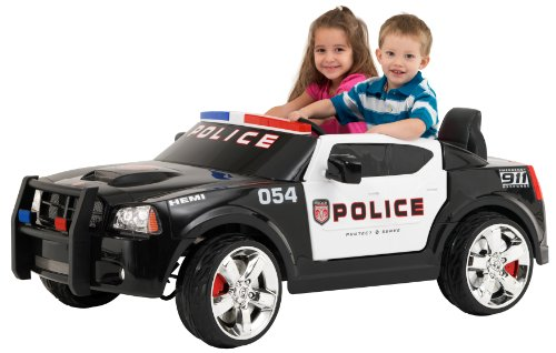 Kid Trax Charger Police Car 12V (Discontinued by manufacturer) by Kid Trax