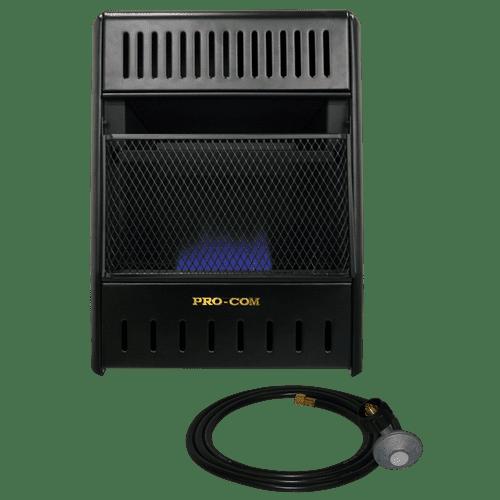 ProCom Liquid Propane Vent Free Ice House Heater 10,000 BTU, Model# ML100TBAHR by ProCom Heating