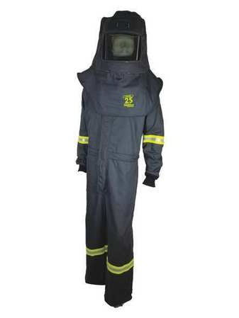 TCG25™ Series Arc Flash Hood, Coat, & Bib Suit Set OBERON COMPANY TCG3B-XL