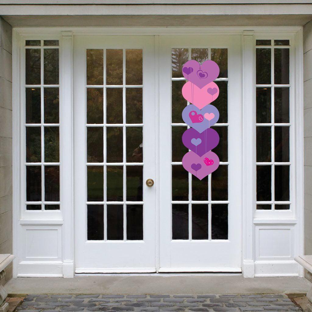Valentine's Day Door Decoration - Hearts