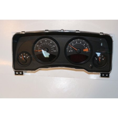 13 15 jeep compass instrument cluster speedometer gauge. Black Bedroom Furniture Sets. Home Design Ideas