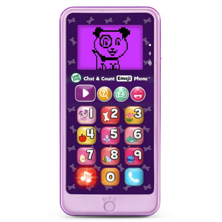 LeapFrog Chat and Count Emoji Phone - Violet